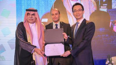 ترخيص تجاري للاستثمار تحصل عليه شركة هواوي في المملكة العربية السعودية