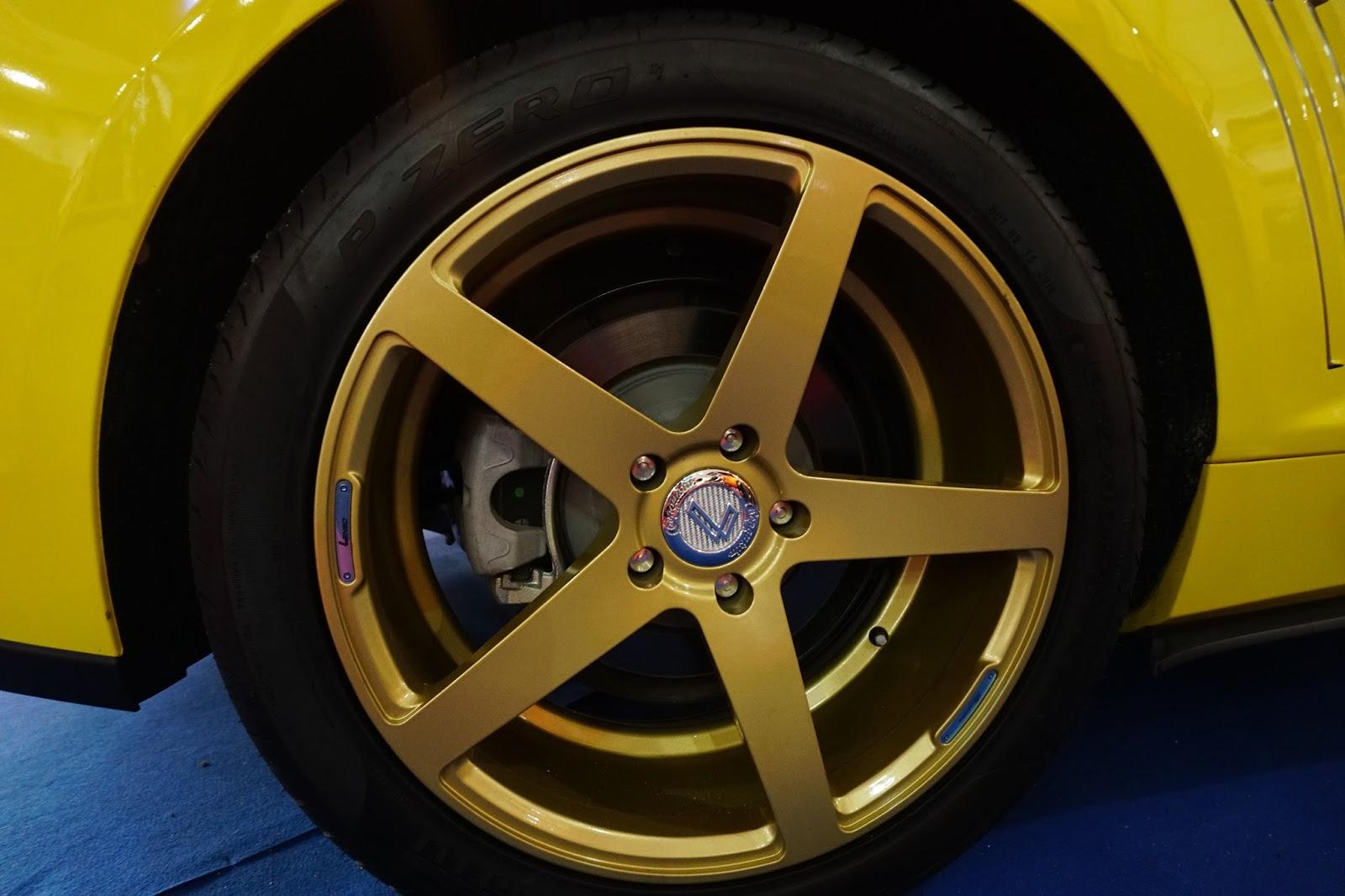 Chevrolet Camaro RS đã được độ lại với bộ mâm của Lenso rất nguy hiểm