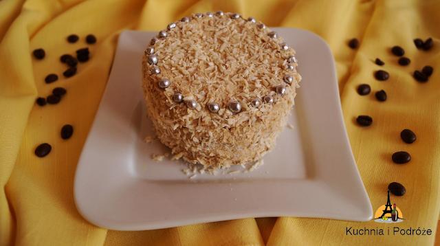 Mini torcik kawowy