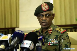 FIRST VICE President-Speech.  Sudan's al-Bashir appoints defence minister, Ahmed Awad Ibn Auf as 1st vice-president.