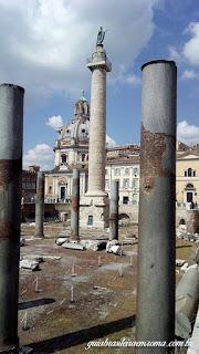 Forum De trajano piso - Fórum de Trajano