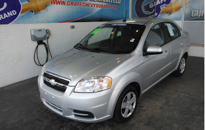 Pick of the Week – One Owner 2011 Chevrolet Aveo 1LT