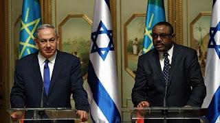 Muxuu u ballanqaaday Netanyahu Itoobiya