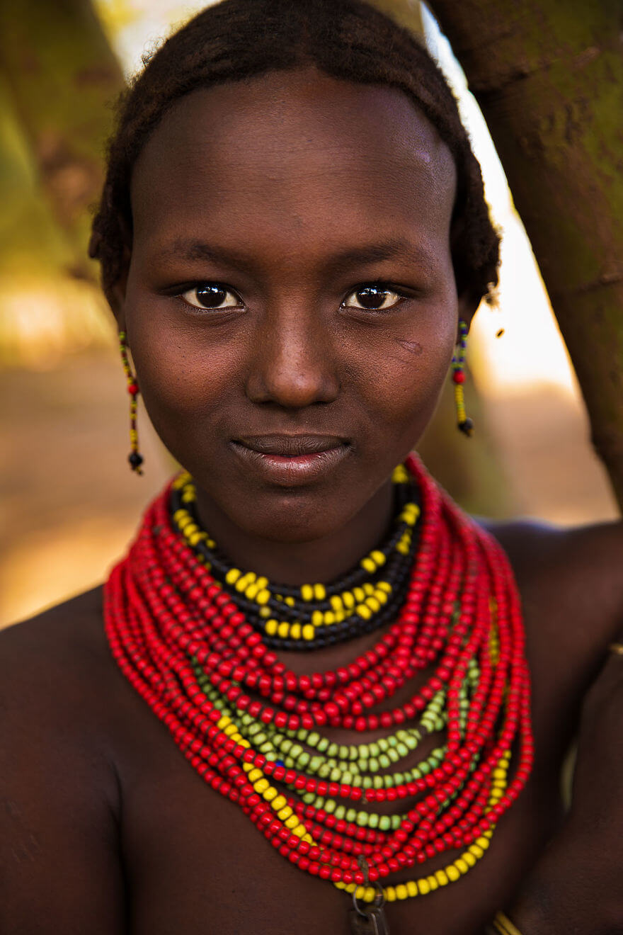 This Photographer Took Pictures Of Women From All Over The World. You'll Be Amazed By Their Beauty And Uniqueness! - Omo Valley, Ethiopia