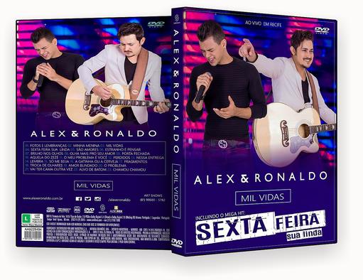 Alex & Ronaldo Mil Vidas Ao Vivo Em Recife DVD-R