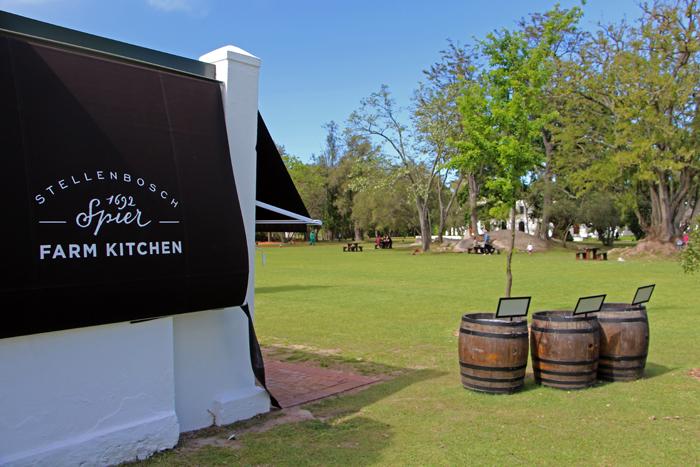 Spier Weingut - Farm Kitchen