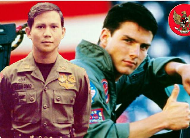 Dibandingkan dengan Tom Cruise, Respon Prabowo Mengejutkan