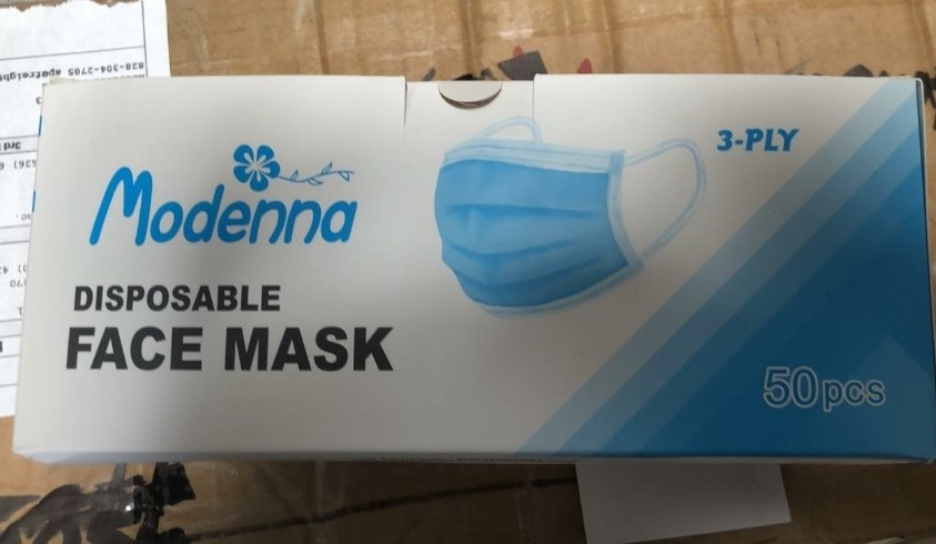 Disposable Mask and Hand Sanitizers