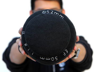 Camera Lens Pillows