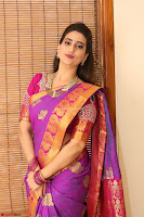 Anchor Manjoosha in Beautiful Kanjiwaram Saree at At Sankarabharanam Awards 2017 ~  Exclusive 023.JPG