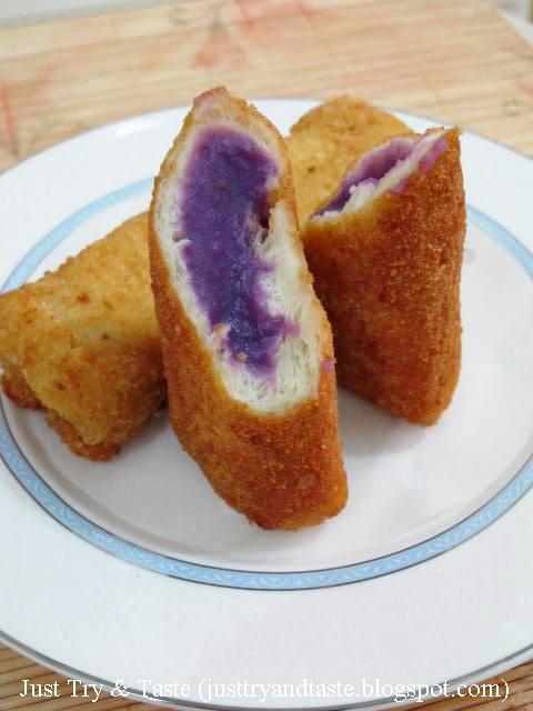 Resep Roti Goreng Isi Talas JTT