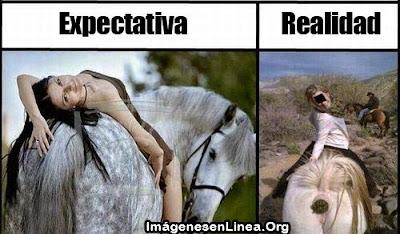 foto en caballo