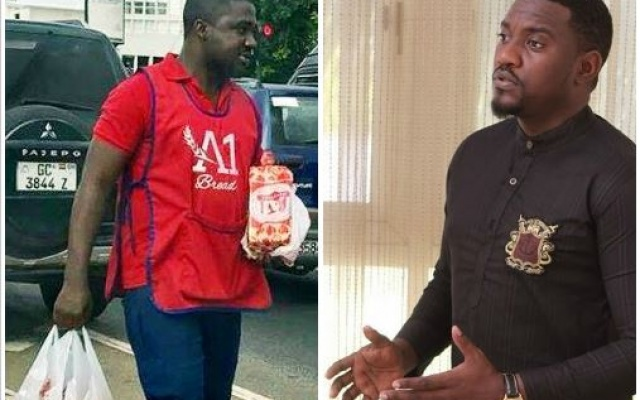 John Dumelo apologises to bread seller - 'I was totally out of order' [Video]
