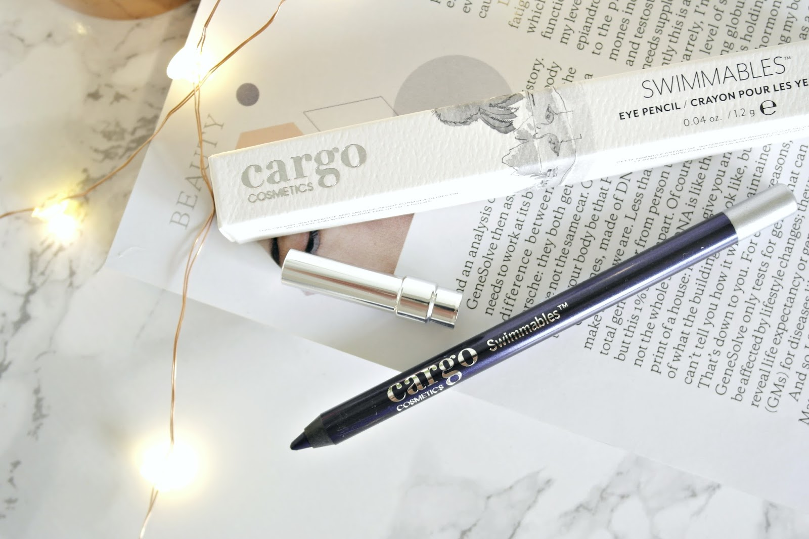 Cargo Cosmettics, Swimmables eye pencil, review