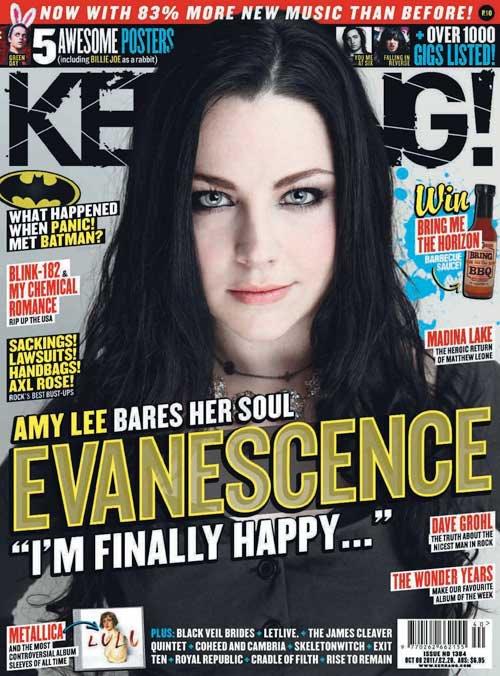 Amy Lee Desnuda Su Alma Kerrang Magazine