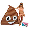 Original Giant Poop Emoji Pool Floats for Adults and Kids – Swimming Inflatable Float as Adult Swim Toys