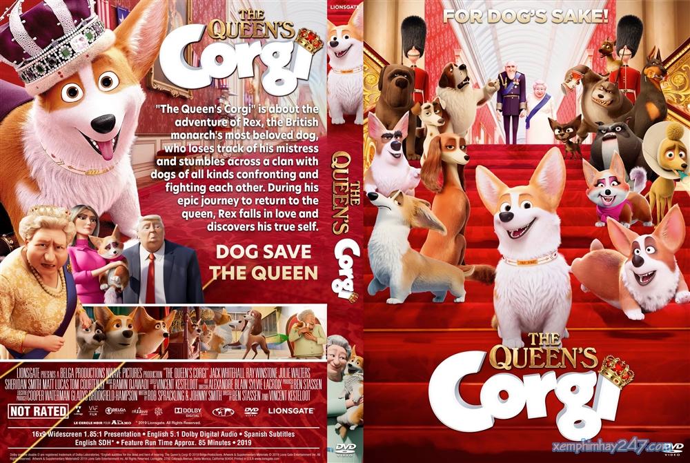 http://xemphimhay247.com - Xem phim hay 247 - Những Chú Chó Hoàng Gia (2019) - The Queen's Corgi (2019)