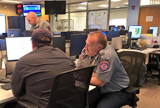 Photo of DFPC staff at the State EOC
