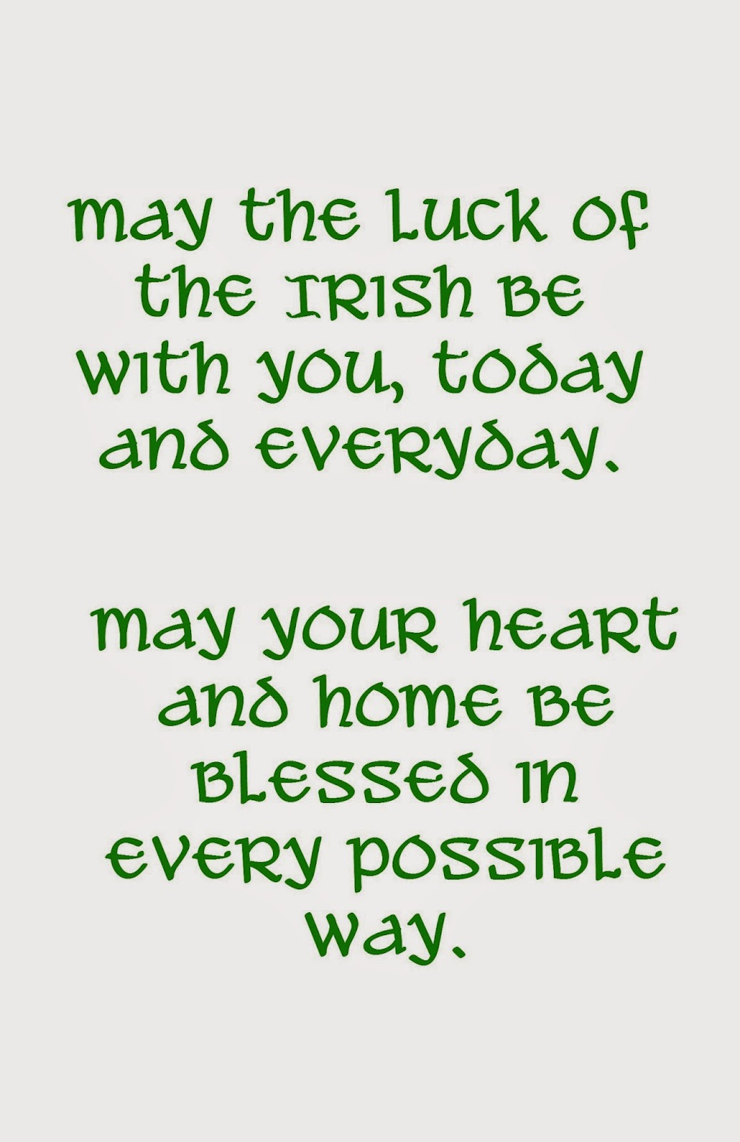 image relating to St Patrick's Day Cards Free Printable called Musings of an Ordinary Mother: Totally free Printable St. Patricks Working day