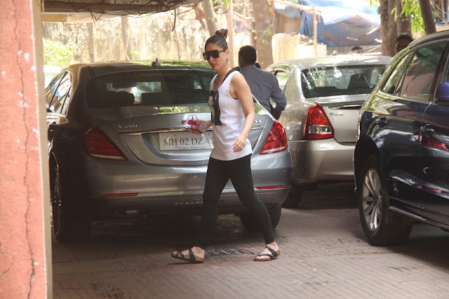 Kareena Kapoor at the gym