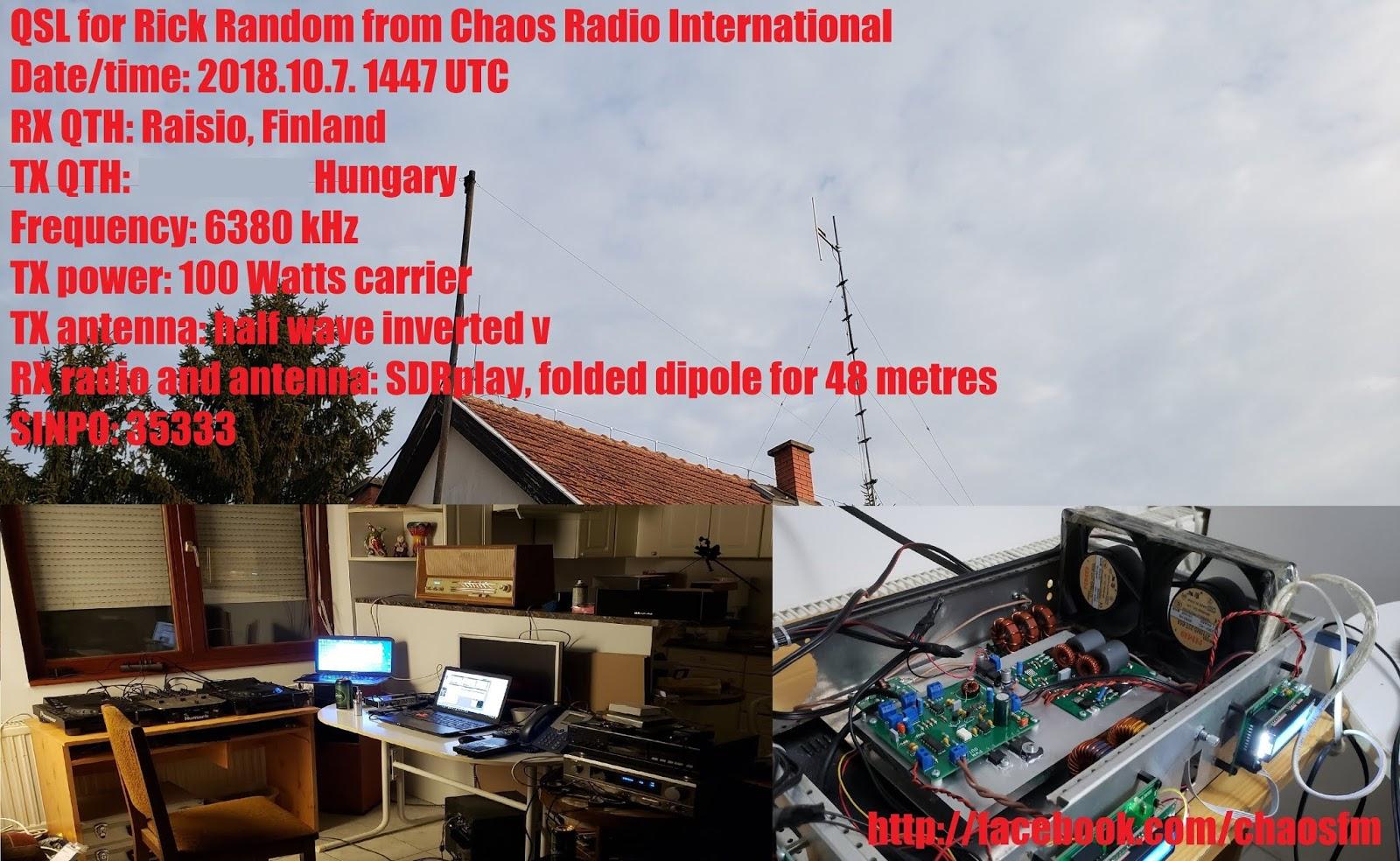 Rick's pirate radio blog - etc