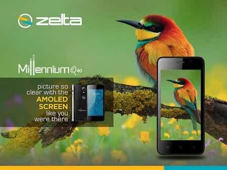 Zelta Millennium Q40 Smartphone