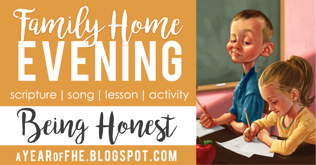 a year of fhe year 01 lesson 42 being honest