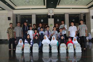Penerimaan Bantuan Peralatan Sekolah dari BAZNAS Kabupaten Ciamis