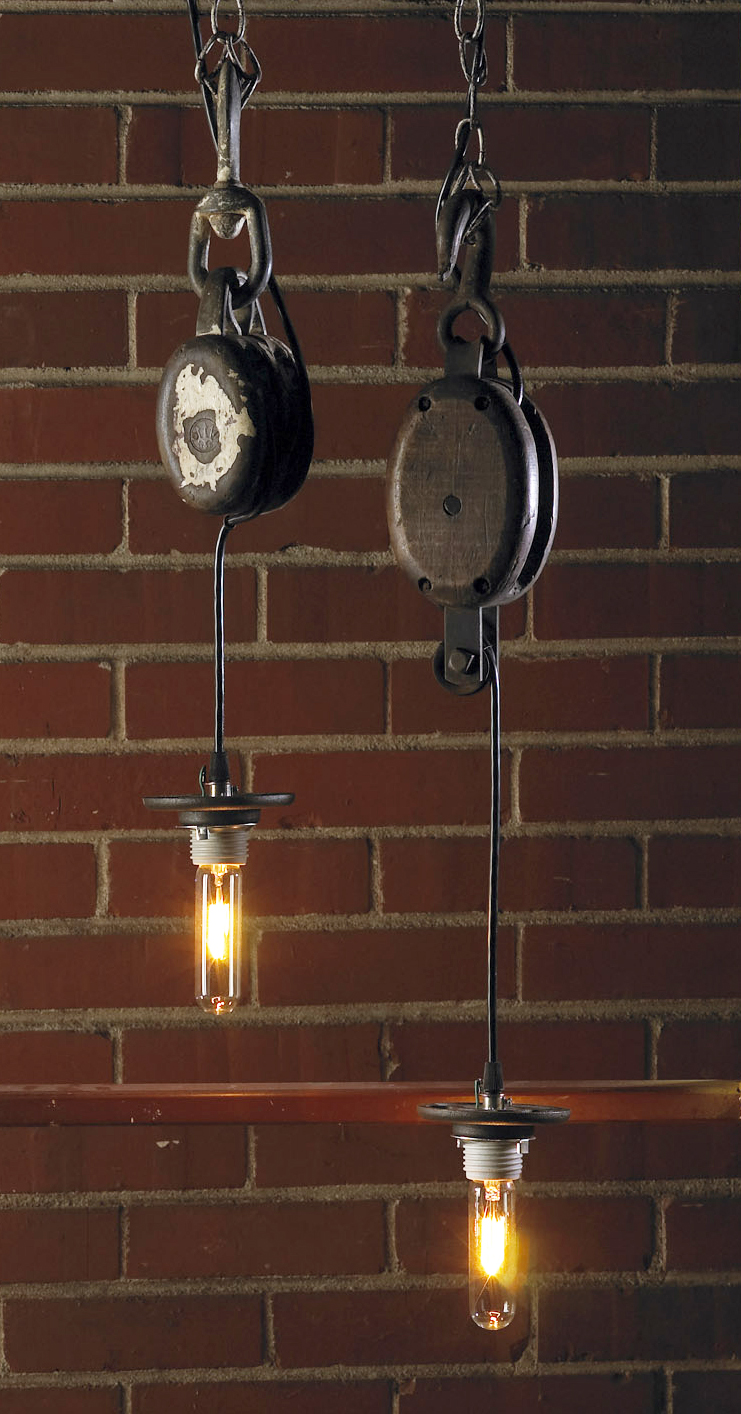 Restoring Style Rs Industrial Chic Lighting