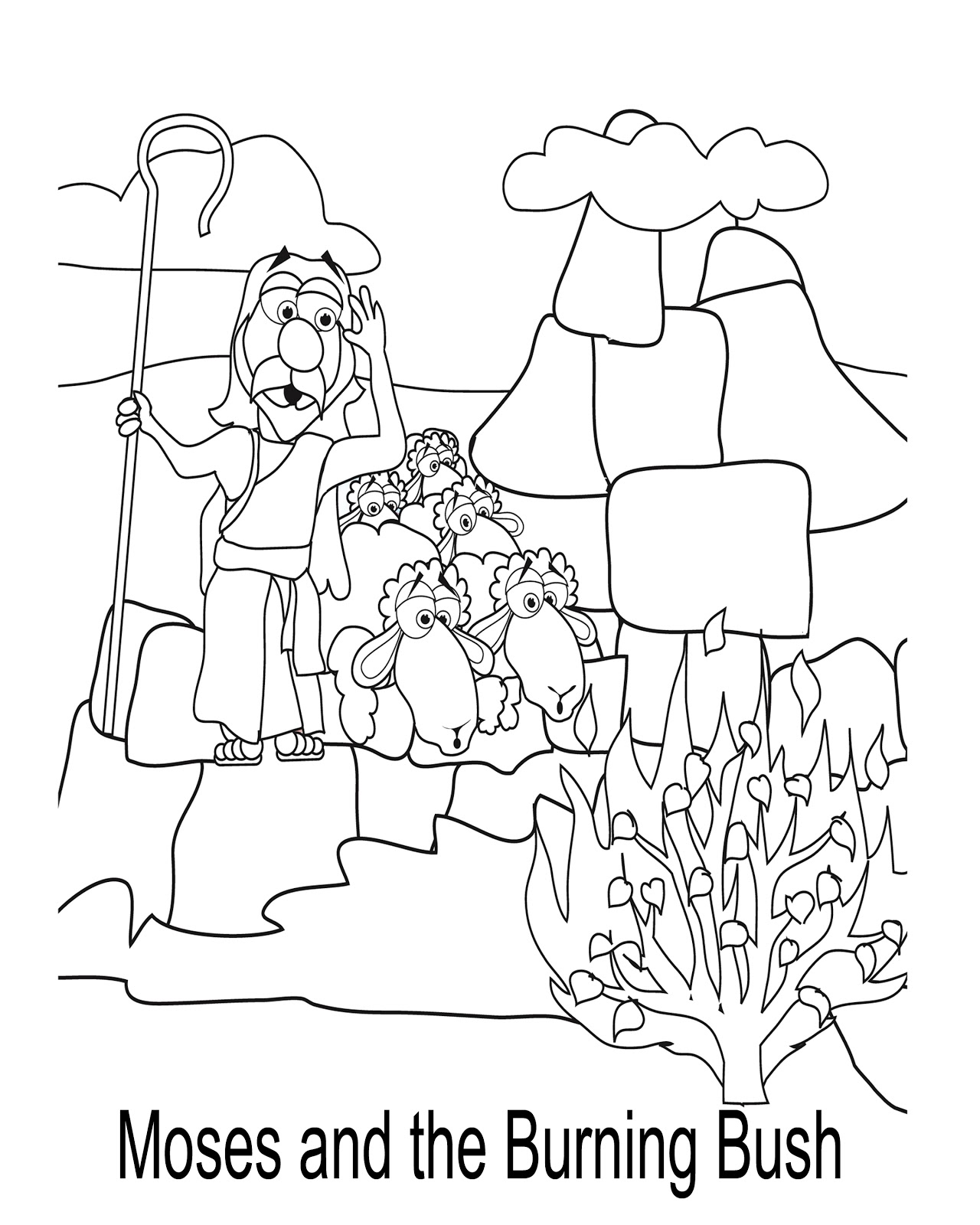 Mr Biblehead: Mr. BibleHead Coloring Pages