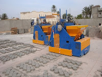 Concrete Block Making Machine Mobile