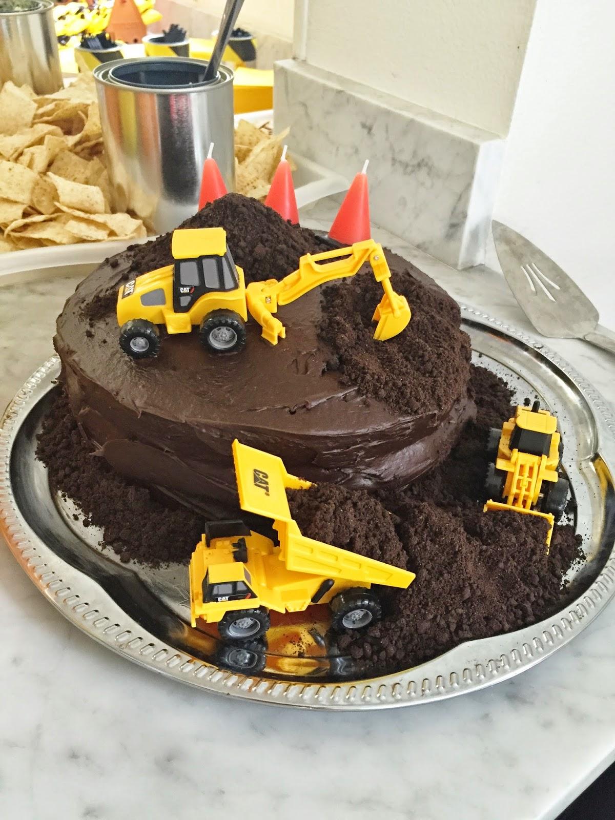 Dump Truck Birthday Cake Ideas