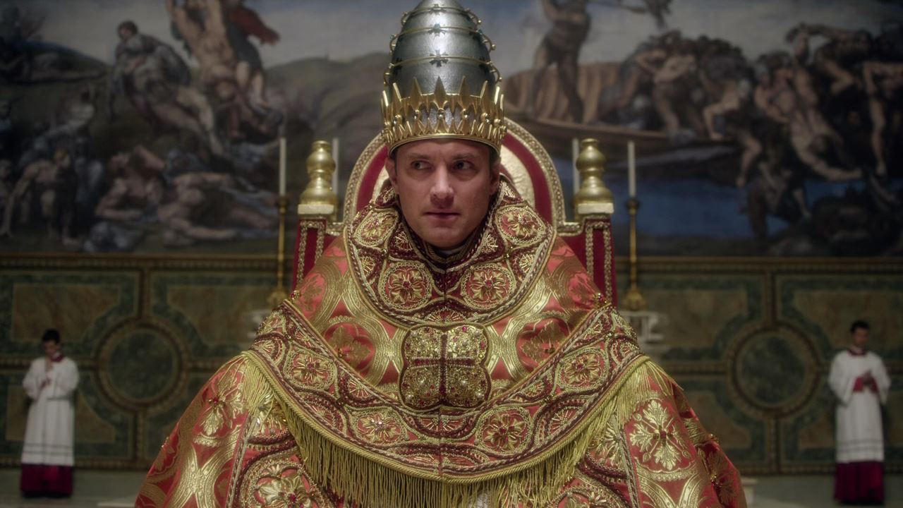 hbo, jude law, the young pope