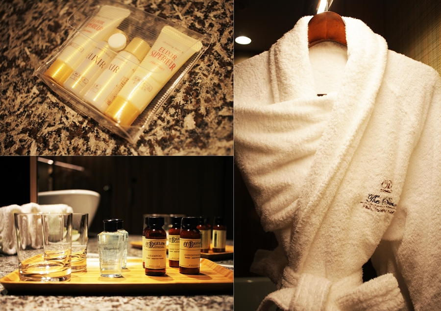 prince hotel shiseido products