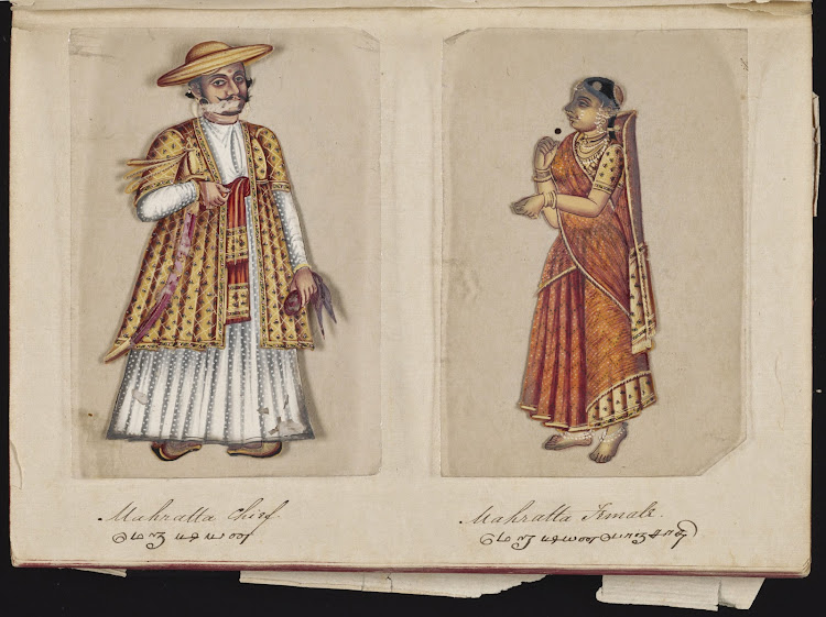 Mahratta Chief and Mahratta Female