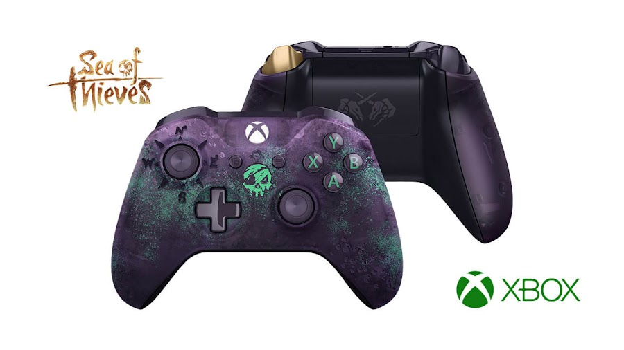 sea of thieves xbox wireless controller