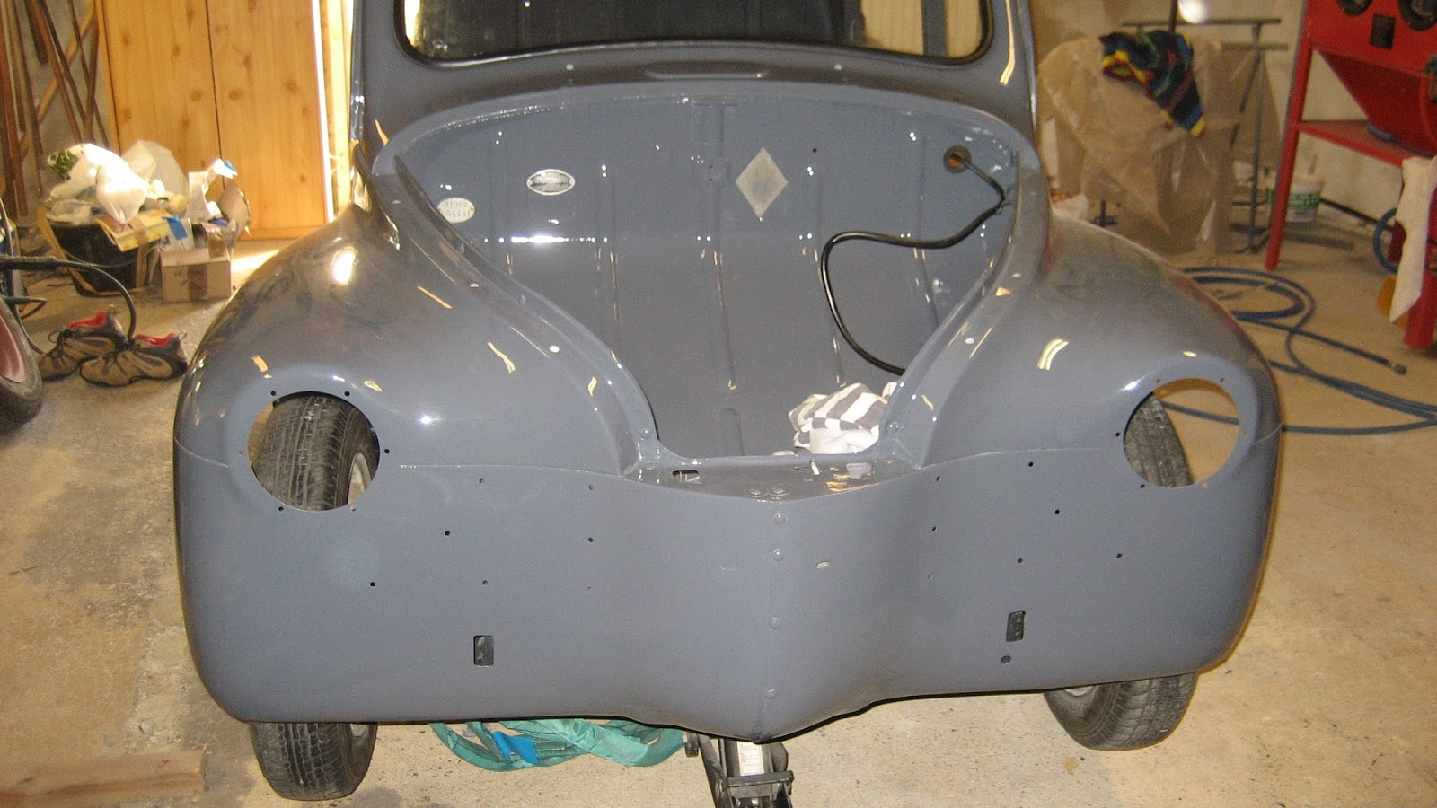 restauration d u0026 39 une renault 4cv affaire de 1956  avril 2016