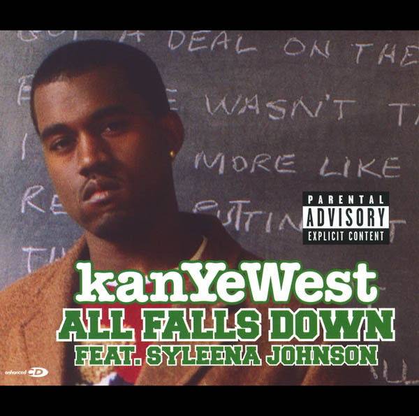 Kanye West - All Falls Down (feat. Syleena Johnson) - EP Cover