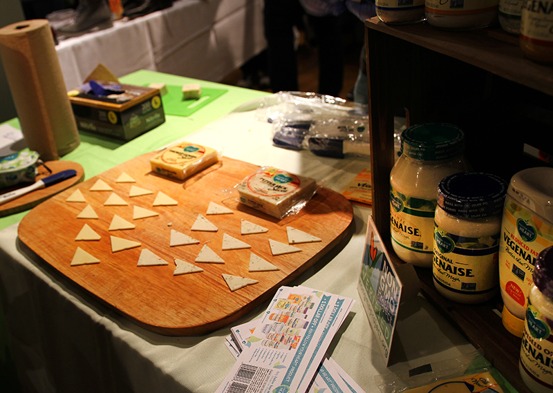 Veganreise New York NY Vegetarian Food Festival Follow Your Heart Vegan Cheese