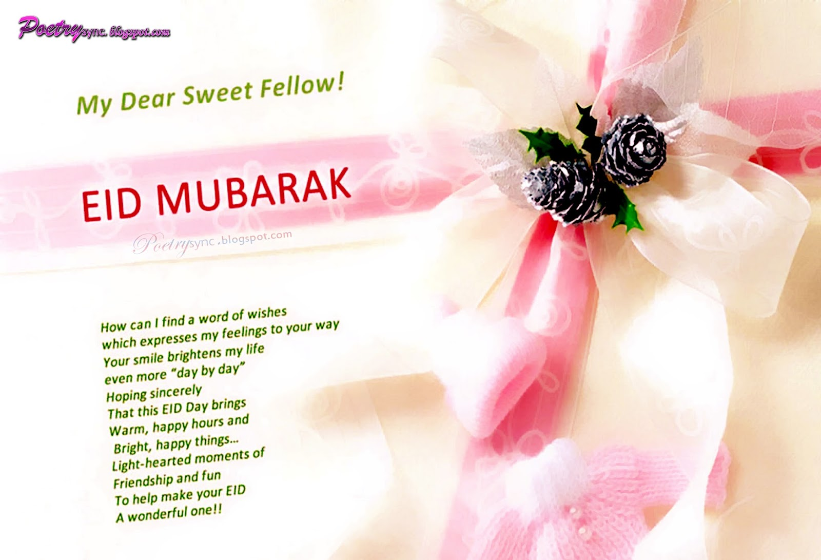 Happy eid mubarak wishes message for lovers with images stylish eid mubarak greetings message in arabic m4hsunfo