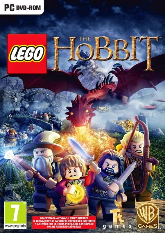 Cover Caratula LEGO The Hobbit PC