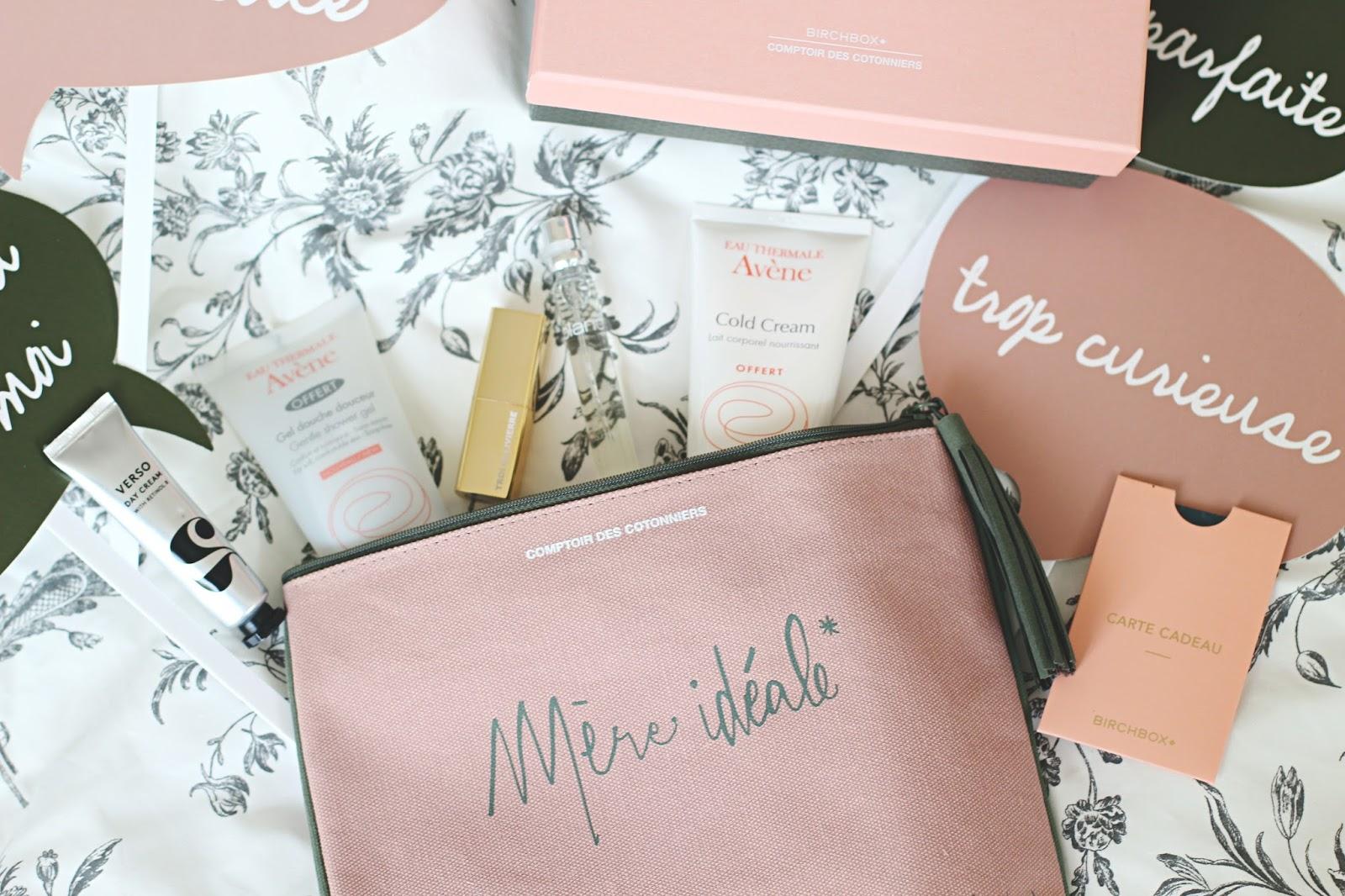 Birchbox x Comptoir des Cotonniers Mère Idéale Fille Parfaite