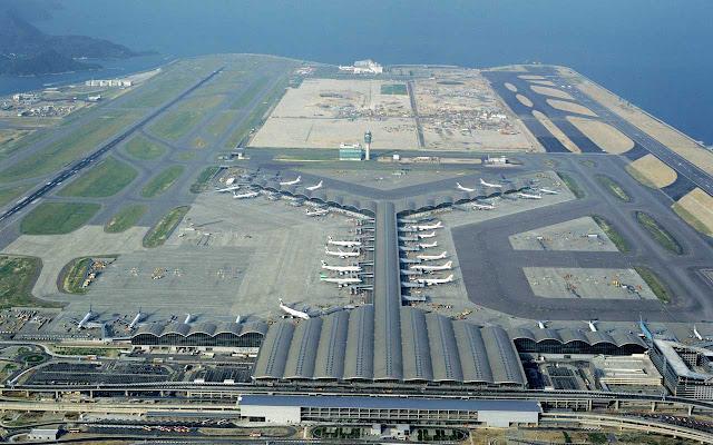 MEGACONSTRUCCIONES: Aeropuerto de Hong Kong