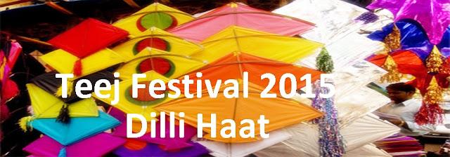 Teej Festival 2015 at Dilli Haat