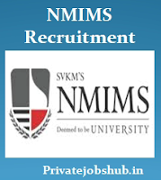 NMIMS Recruitment