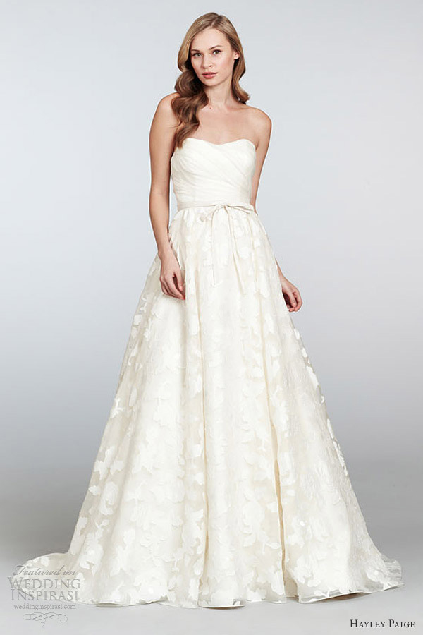 Honey Buy Hayley Paige 2013 spring summer wedding dresses