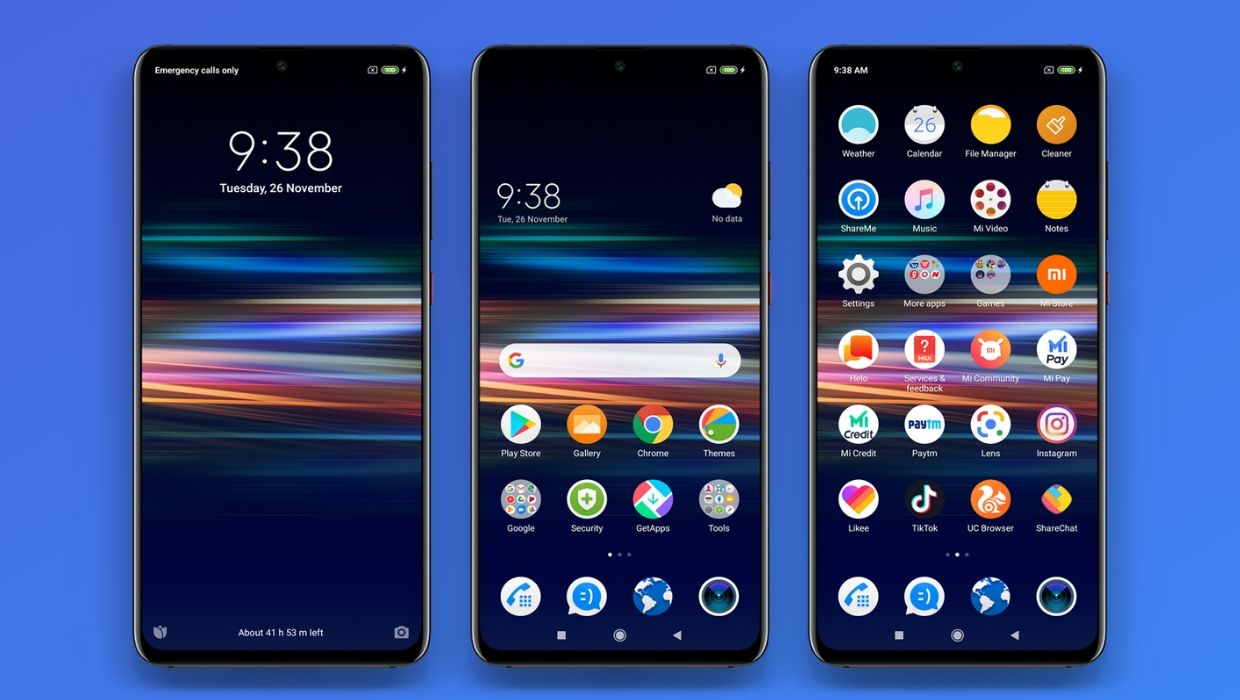 Sony Xperia MIUI 11 Theme for Xiaomi Devices