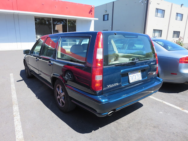 Volvo V70 repainted at Almost Everything Auto Body.