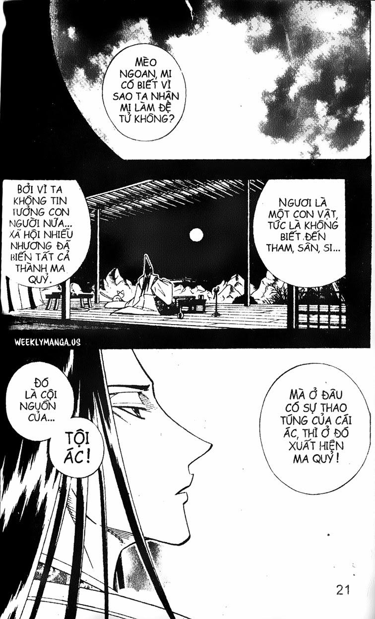 Shaman King [Vua pháp thuật] chap 173 trang 3