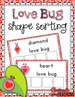 https://www.teacherspayteachers.com/Product/Love-Bug-Shape-Sorting-2387388